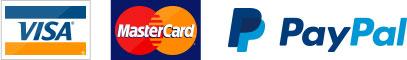 Visa, Mastercard und Paypal
